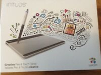 NEW Wacom Intuos 'Pen and Touch' Graphics Tablet New
