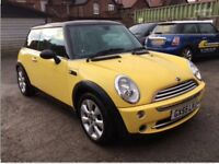 2005 AUTOMATIC MINI COOPER VERY LOW MILEAGE AIR CONDITIONING ONE YEARS MOT AUTO MINI COOPER ONE S