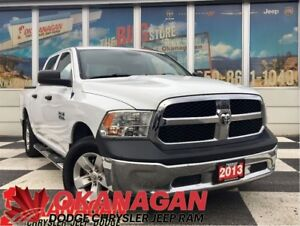 2013 Ram 1500 ST CREW CAB | 1 Owner | Accident-Free | 5' Box