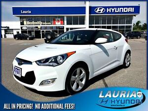 2015 Hyundai Veloster Auto -  Ultra low kms!!