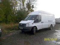 61 reg transit jumbo 2.4 diesel 1850 romford essex px small van cash edery way