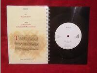 Erasure Heavenly Action A5 Handmade Vinyl Notebook