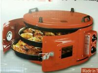 NEW IN BOX ITIMAT DOUBLE TRAY GRILL ROASTER