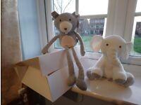 Brand New Mamas & Papas & M&S baby toys £5 the pair