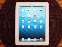 White iPad Retina 4th gen - 4G+Wifi unlocked - 16gb