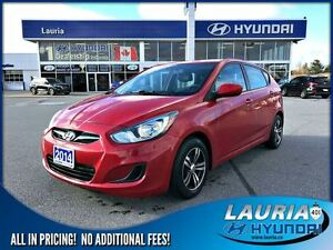 2014 Hyundai Accent GL Auto - Heated seats / Bluetooth
