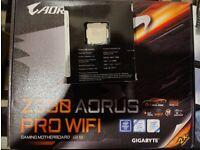 Intel i7-8700k CPU + AORUS Z390 PRO WIFI Motherboard (Motherboard sold)