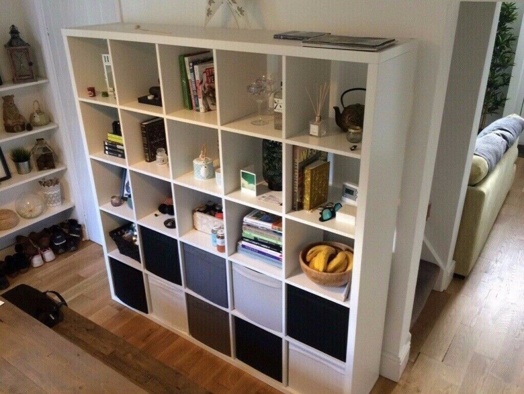 on sale 6eb32 99a65 Ikea White Kallax Shelving unit £80 | in Wilmslow, Cheshire | Gumtree