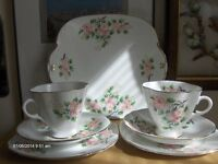 Vintage windsor bone china Tea Cups Set