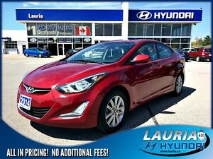 2014 Hyundai Elantra GLS Auto  - Power sunroof / Bluetooth