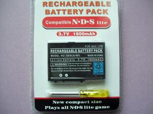 RECHARGEABLE BATTERY FOR DS CONSOLE Gatineau Ottawa / Gatineau Area image 1