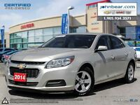 2014 Chevrolet Malibu LT NO INTEREST & NO PAYMENTS FOR SIX MONTH