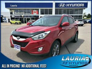 2015 Hyundai Tucson GLS AWD - ULTRA LOW KMS