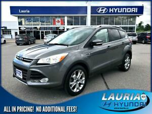 2014 Ford Escape Titanium 4x4 - Low kms - Leather / Nav
