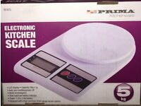 Prima Electronic Kitchen Digital Scale Display 5kg Capacity