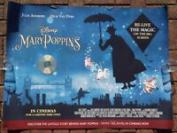 MARY POPPINS- DISNEY- QUAD POSTER - JULIE ANDREWS