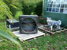 Vintage Industrial Metal Cabinet - a total One Off