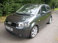 *WILLOW MOTORS OFFER A AUDI A2 1.4 TDI SE DIESEL 5 DOOR* SERVICE HISTORY* 2 OWNERS*