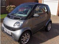 Smart Car 2006 model name Pure
