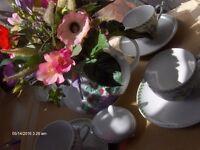 Vintage Waterside Tea Set Fine China