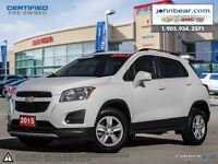 2015 Chevrolet Trax LT ALL WHEEL DRIVE, RATES AS LOW AS 0.9%