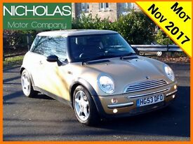 2003 '53 MINI COOPER 1.6 /MOT NOV 2017 /SERVICE HISTORY /AIR CON /LOW MILES /WARRANTY