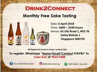 Sake Meetup Session with Pot Luck Sharing at Ubi Road 1
