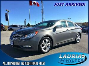 2011 Hyundai Sonata Limited  -  1 owner / Leather / Sunroof