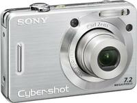 Sony Cybershot DSCW55 7.2MP Digital Camera