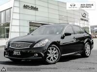 2011 Infiniti G37X NAVIGATION! SPORT PACKAGE!