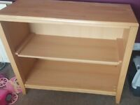 Wooden book shelf excellent condition