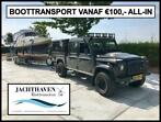 BOOTTRANSPORT vanaf €100,- ALL-IN (boot transport vervoer)