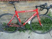 Full carbon specialized s works racing bike in excellent condition... costs new £2500...