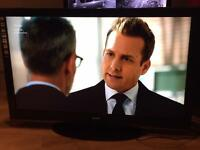 """42"""" SANYO LED TV SCART HDMI USB FULL HD CAN DELIVER."""