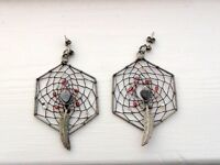 Native American 'Dreamcatcher' Earrings