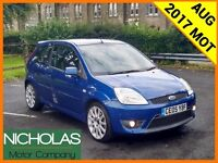 2005 FORD FIESTA 2.0 ST /AUG 2017 MOT /SERVICE HISTORY /LEATHER /AIR CON /PART EX