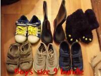 Boys shoes bundle size 9! 10pounds