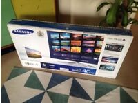 samsung ue40d6240 led smart with wifi build in . good condition