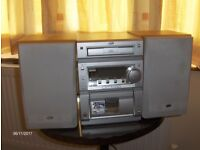 Radio with CD and Tape player