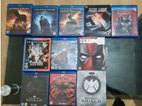 Marvel/DC Blu Rays