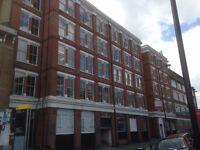 Dalston Open Plan Studio Office Space Victorian Warehouse Shacklewell Lane 700 sq feet