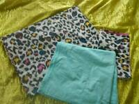 Single duvet, pillow covers