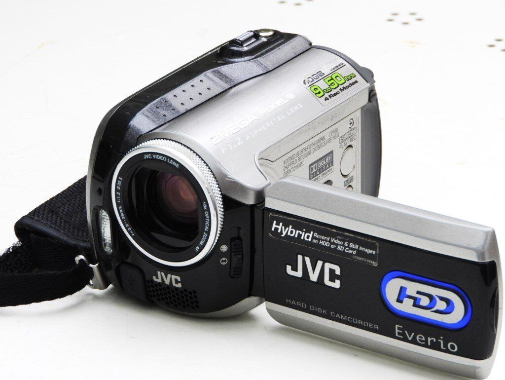 JVC Everio GZ-MG275 HDD camcorder 40GB HD GOOD CONDITION carry bag spare  battery boxed
