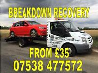Breakdown Recovery Chelmsford Essex