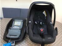 Maxicosi pebble car seat with family fix isofix