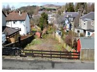 Building plot with planning permission for 4 bedroom home - central Selkirk