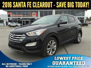 2016 Hyundai Santa Fe Sport 2.0T AWD Limited - SAVE OVER $5,000