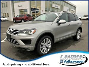 2016 Volkswagen Touareg Execline TDI - LOADED - LOW KMS