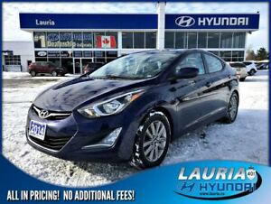 2014 Hyundai Elantra GLS - Power sunroof / Alloys