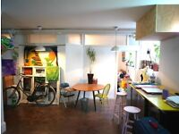 Large 3 Bed Warehouse Apartment / Central London Fields / Cool Old Building! Come See!